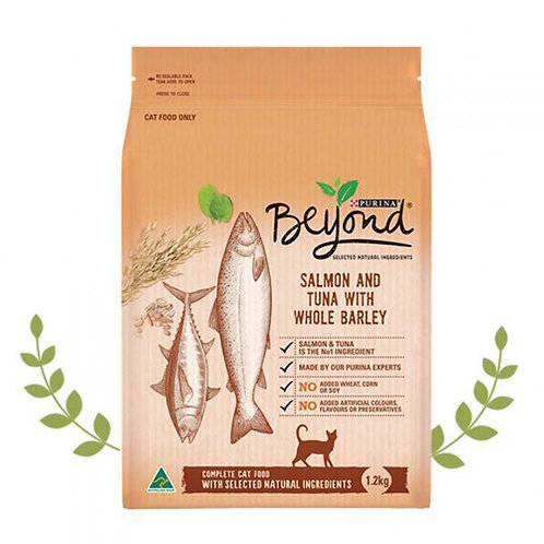 近期貓糧1.2kg  Beyond嚴選-挑嘴貓低敏雙魚天然糧