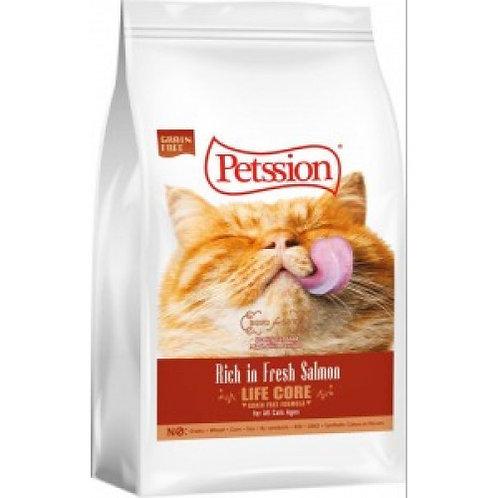 PETSSION 比心 - LIFE CORE無穀物三文魚貓糧