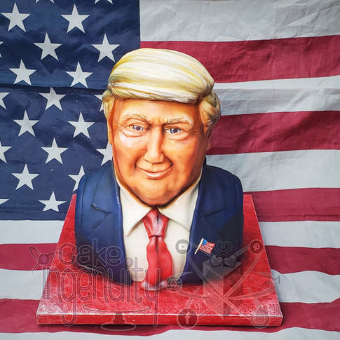 Donal Trump cake