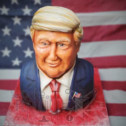 Donald Trump cake Albuquerque, nm