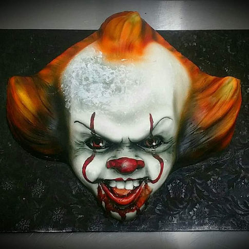 IT Pennywise 3D head CAKE