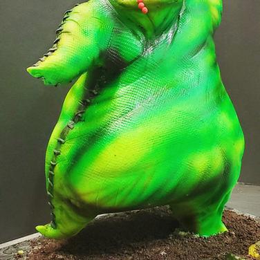 oogie boogie 3d cake