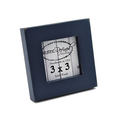 "3x3 1"" Gallery Picture Frame - Navy Blue"