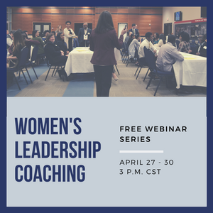 Women's Leadership Coaching - Join the Free Webinar Series