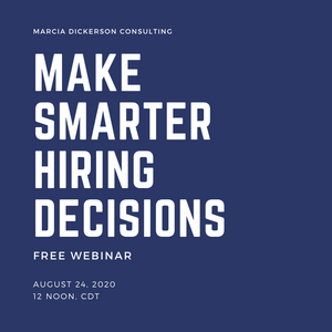 Free Webinar: MAKE SMARTER HIRING DECISIONS