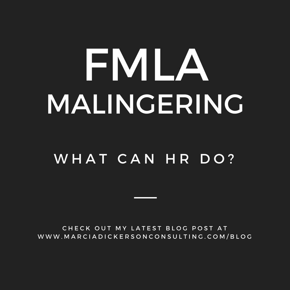 Preventing FMLA Malingering
