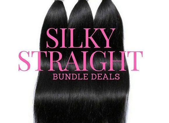 Silky Straight Bundle Deal