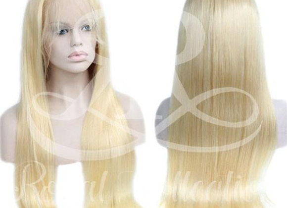 Barbie Blonde Full Lace Straight Wig