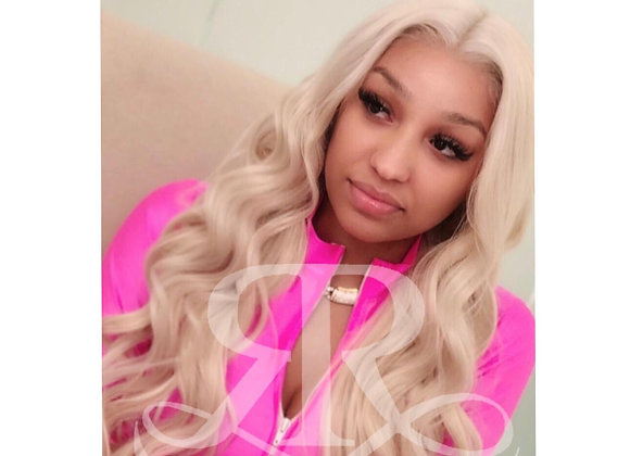Barbie Blonde Full Lace Body Wave Wig