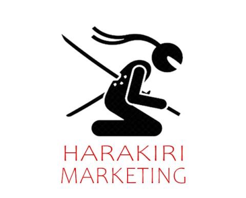 Un caso di harakiri marketing