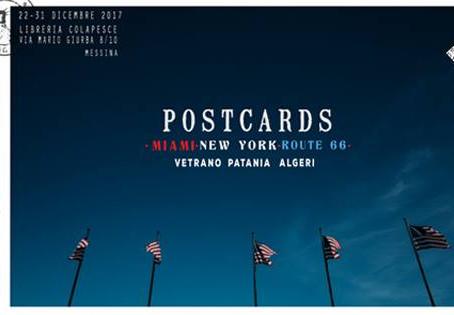 Postcards: New York, Miami, Route 66