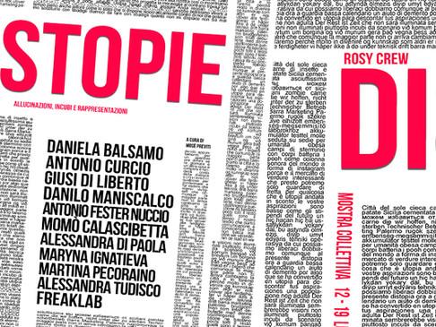 Rosy Crew: Distopie, mostra collettiva, 12 Luglio Palermo