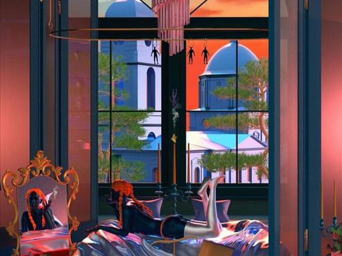 Tishk Barzanji: Pop art ansiogena