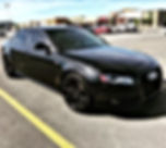 Audi S4 finished up with a single step p