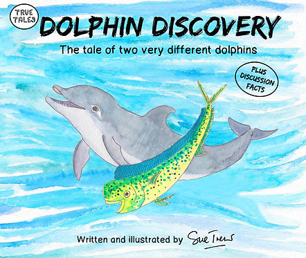 Dolphin Discovery The tale of two very different dolphins