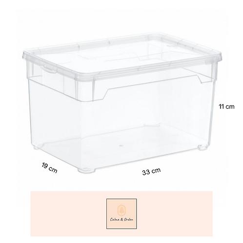 Caja transparente 5 litros