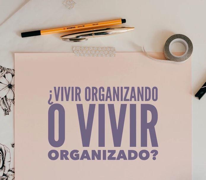 organización de espacio