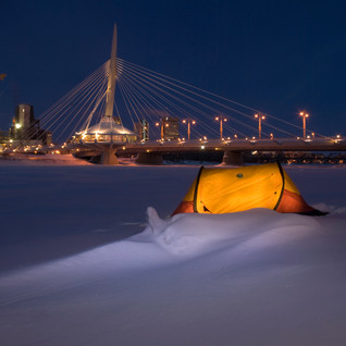 Winter at the Forks