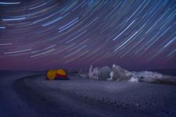 Star Trails in Gimli