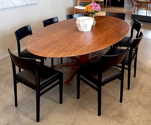 Mesa de jantar Hexa oval
