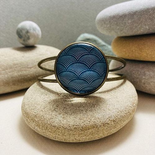 Bracelet rigide Motif Japonais