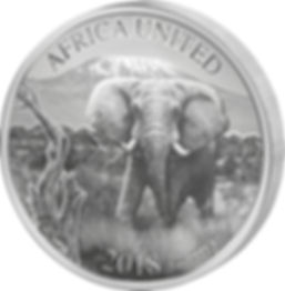 2018 6 Nation 3 Ounce Africa United Elep