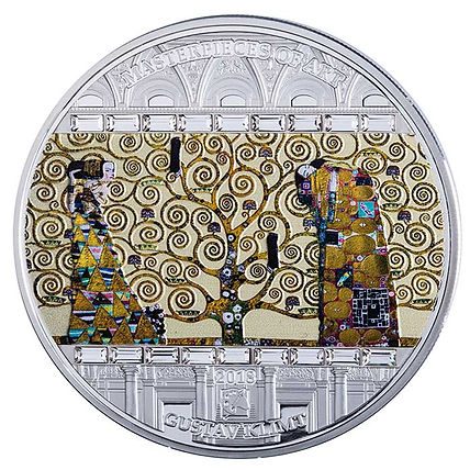 2018-Cook-Islands-3-Ounce-Gustav-Klimt-T