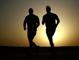 There nothing like an early morning run.