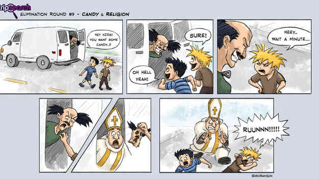 StripSearch Comic - Candy & Religion