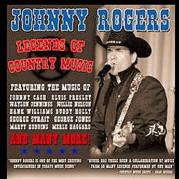 "Johnny Rogers ""Legends of Country"" Poster"