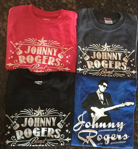 Johnny Rogers Band T-Shirts **Various Styles**