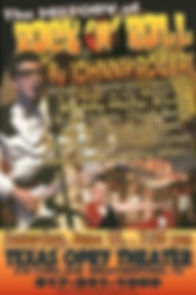 History of Rock n' Roll Johnny poster_ed