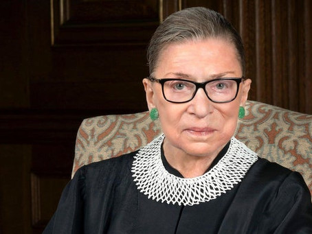 Saying goodbye to a leading feminist - Ruth Bader Ginsburg (22nd December 2020)