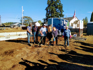 Groundbreaking for House #29