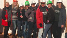 Wall Raising Ceremony at Habitat Home #24