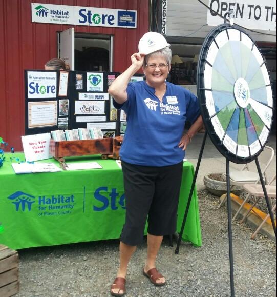 Volunteer Sandi Fleury - our great photographer!