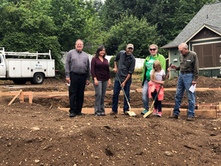 Habitat House #31 Groundbreaking Ceremony