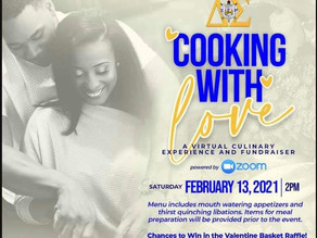 Cooking With Love-Virtual Culinary Experience & Fundraiser
