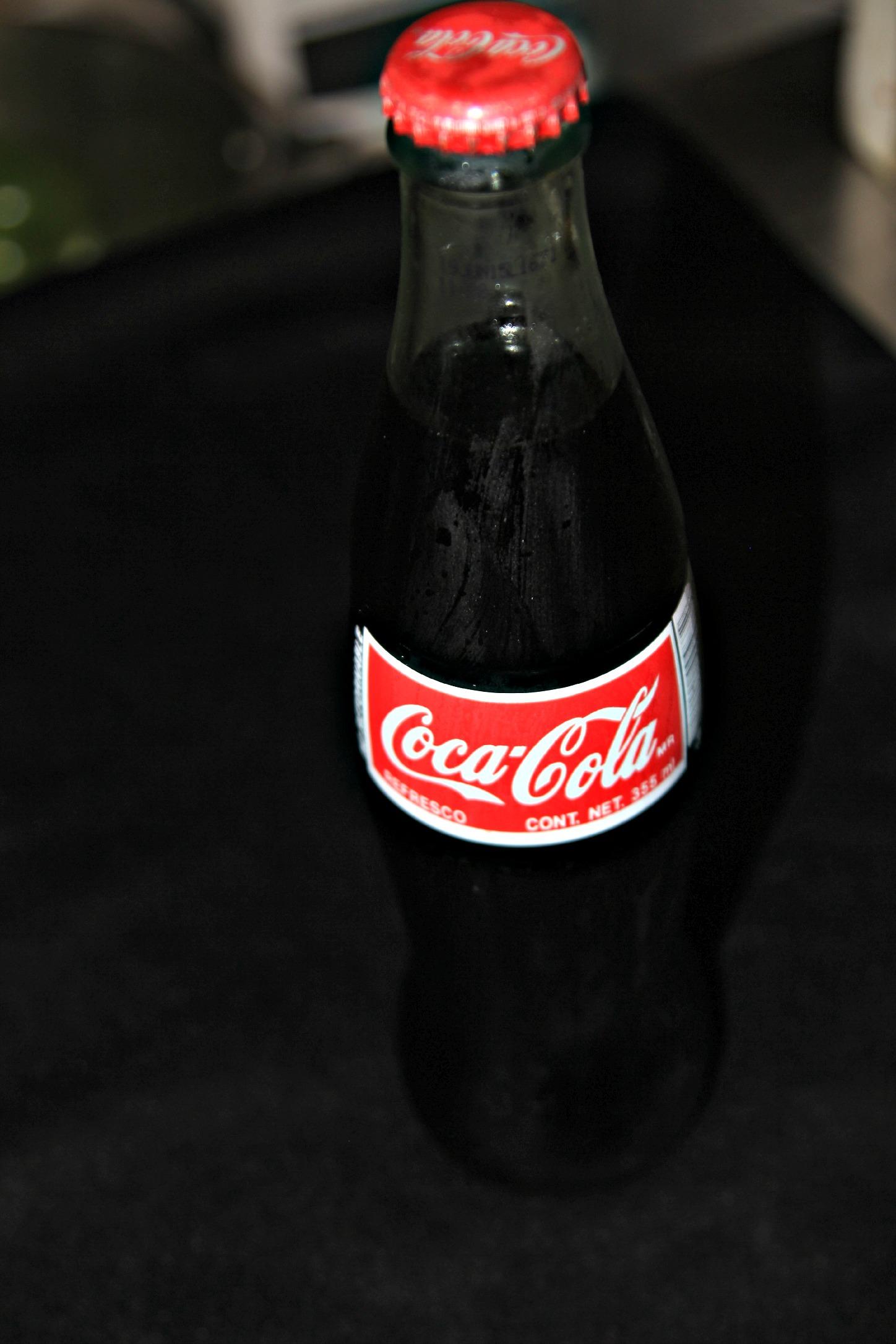 Glass Bottle of Coca Cola