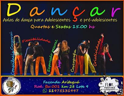 Danca adolescentes quartas e sextas 15 h