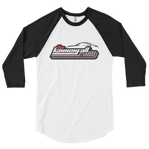 KannonFALL Rally 3/4 sleeve raglan shirt