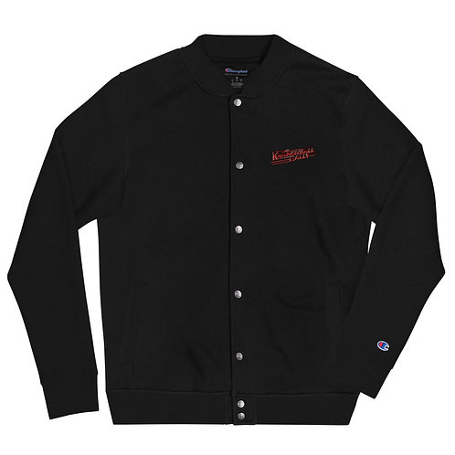 Kannonball Rally Embroidered Champion Bomber Jacket