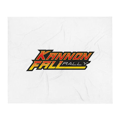 KannonFALL Rally Throw Blanket