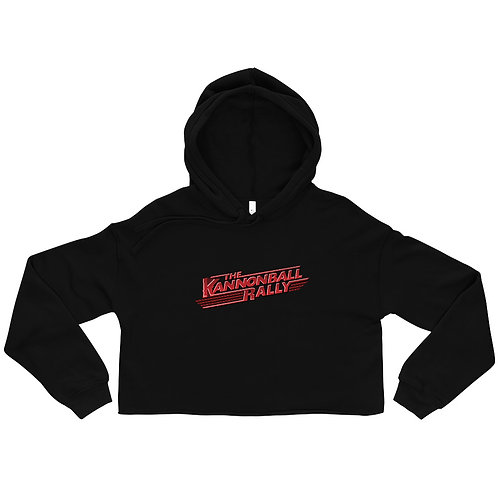 The Kannonball Rally Crop Hoodie