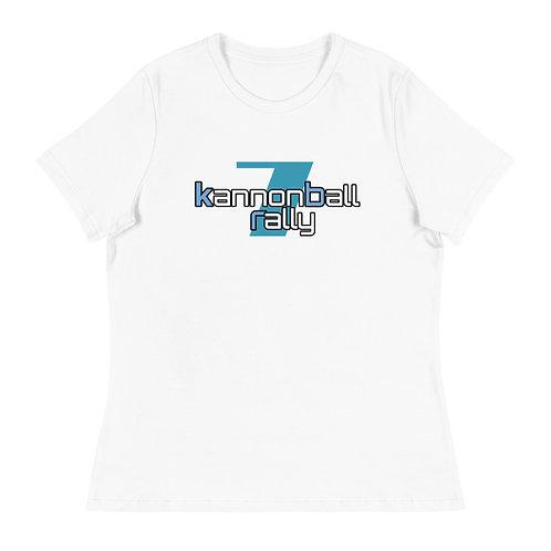 The 2021 Kannonball Rally Women's Relaxed T-Shirt