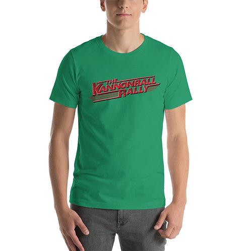 Kannonball Rally Logo Short-Sleeve Unisex T-Shirt
