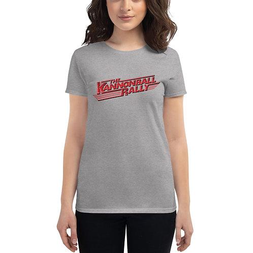 Women's Kannonball Rally short sleeve t-shirt