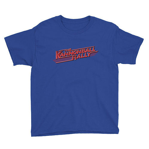 Kannonball Rally Youth Short Sleeve T-Shirt