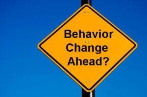 Behavioral Change is Key