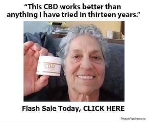 FREE jar of CBD Pain Freeze Cream for Supatoonz Fanz